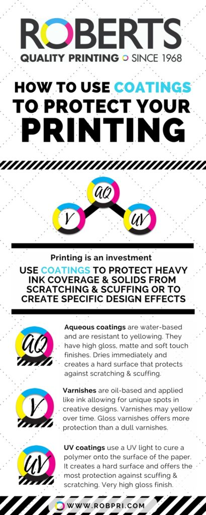 How to use coatings to protect your printing