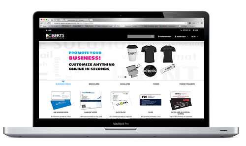 Roberts Online Ordering Storefronts